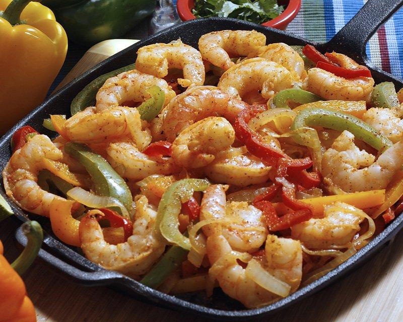 shrimp-fajitas