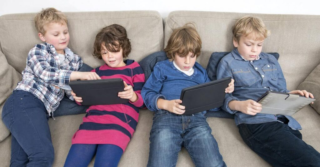 Too Much Screen Time for Kids