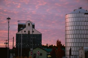 Sunset in Moscow, Idaho