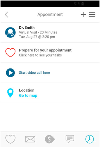 CHAS App Appointment