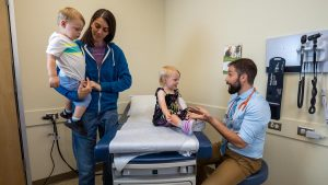 Family doctor visit