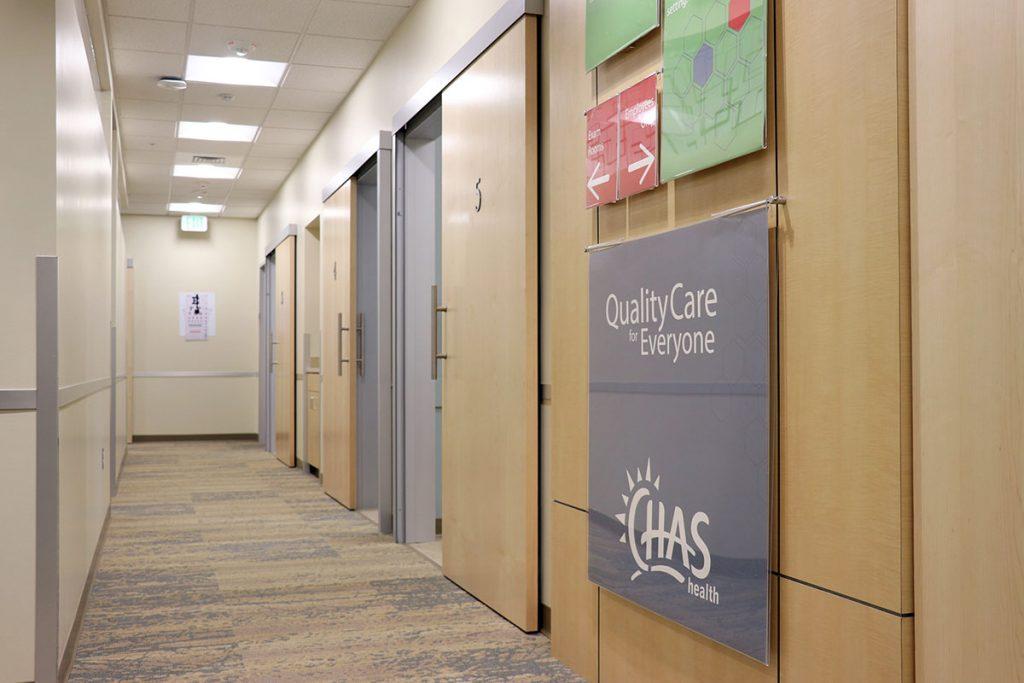 Nurse Practitioner Residency Program facility hallway