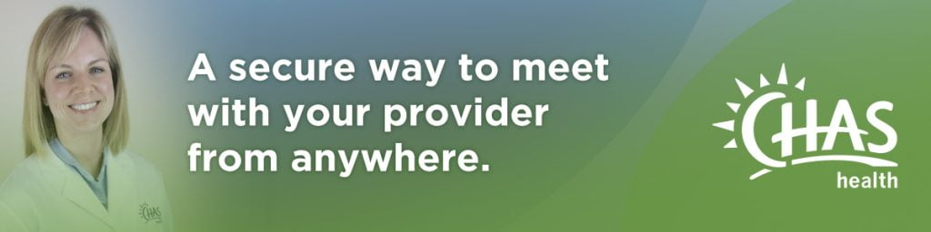 A secure way to meet with your provider from anywhere.