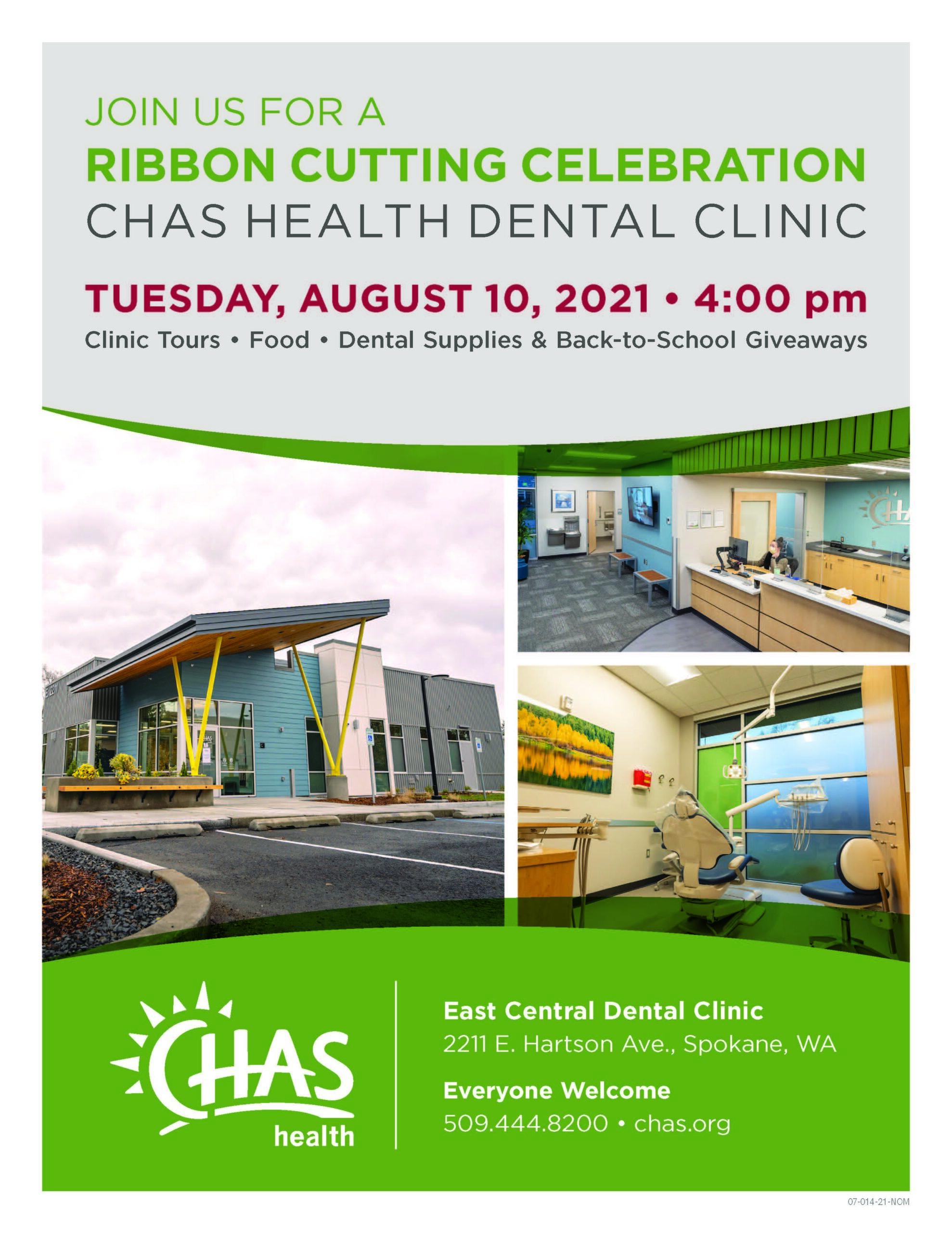 East Central Dental Ribbon Cutting Flyer